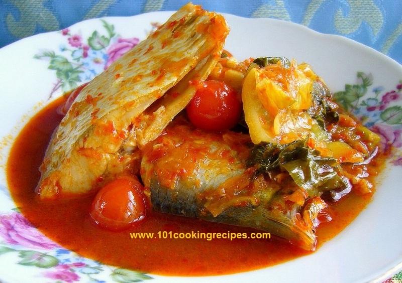 Malaysia Ikan Asam Pedas Hot Sour Fish Curry