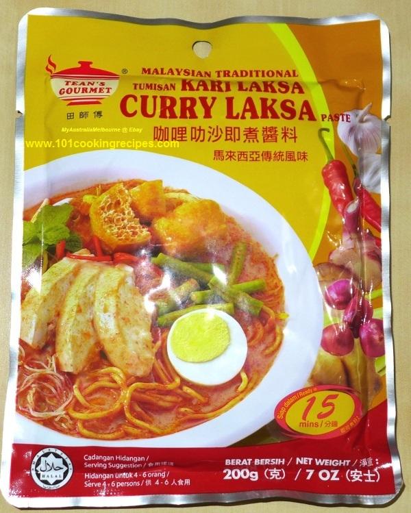Tean's Gourmet Malaysia Curry Laksa Paste