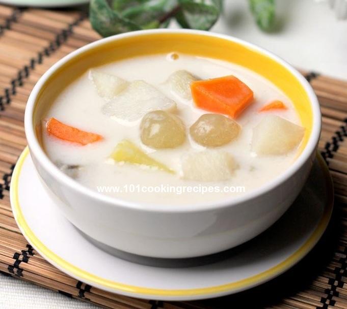Malaysia Hawker Dessert Recipes - Bubor Cha Cha